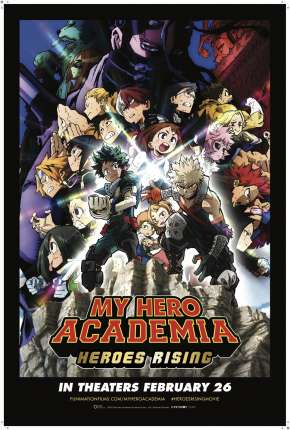 My Hero Academia: Ascensão dos Heróis - Legendado Torrent Download