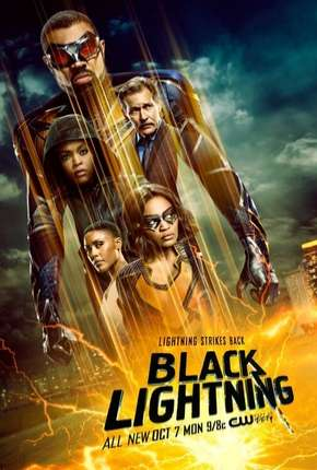 Raio Negro - Black Lightning 3ª Temporada Legendada Torrent Download