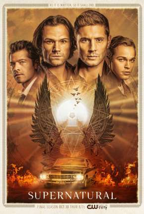 Sobrenatural - Supernatural 15ª Temporada Legendada Torrent Download