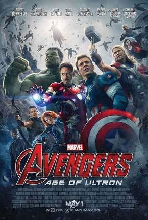 Vingadores - Era de Ultron (60 FPS) Torrent Download